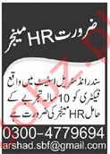 Factory Jobs in Lahore