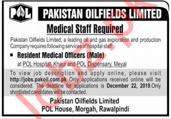 POL Hospital & POL Dispensary Jobs For Medical Officers