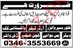 Food Company Jobs 2020 in Karachi