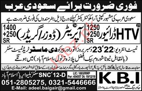 The Master Trade Test Center Jobs in Saudi Arabia
