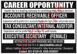 Health Tec Company Rawalpindi Jobs