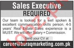 Sales Executive Jobs 2020 in Islamabad