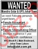 ABT Computers Life Partner Company Jobs 2020 in Lahore