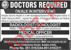 Margalla General Hospital Medical Staff Jobs Interviews 2020