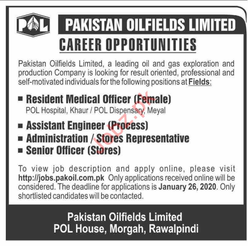 Pakistan Oilfields Limited POL Jobs 2020 in Rawalpindi
