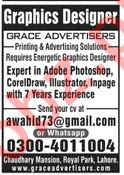 Graphic Designer Jobs in Grace Advertisers