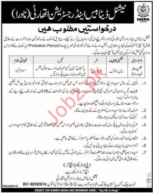 Pakistan Red Crescent Job 2020 For Hospital Administrator