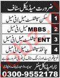 Zara Medical Centre Jobs in Rawalpindi
