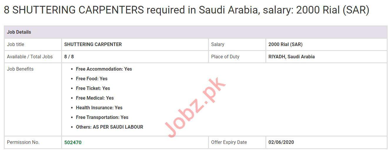 Steel Fixers & Pipe Fitters Jobs 2020 in KSA