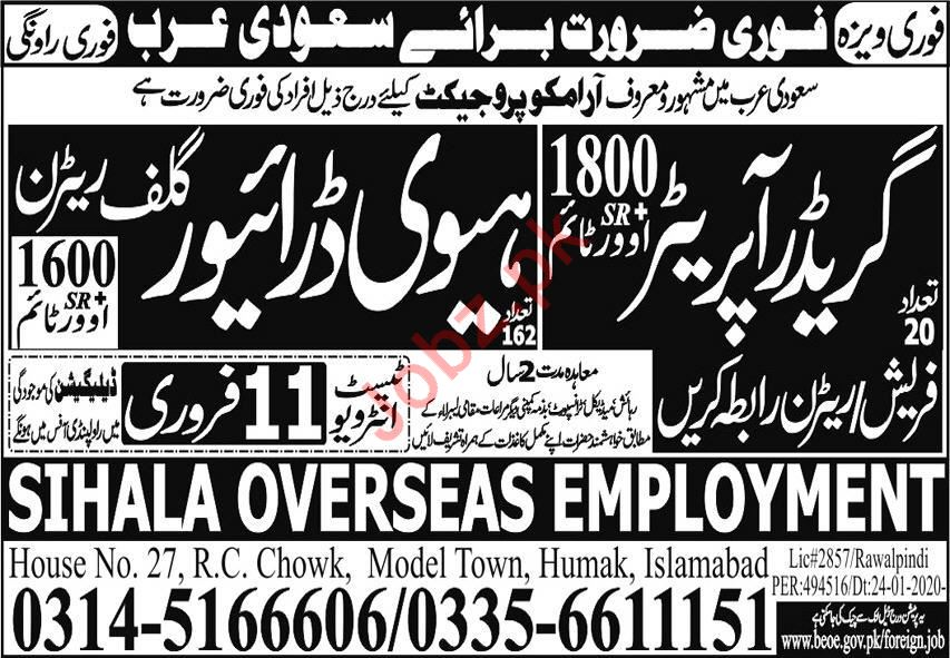 Aramco Company Jobs 2020 in Saudi Arabia