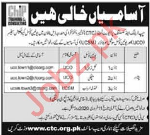 Chip Training and Consulting CTC Jobs 2020 in Peshawar