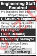Engineering Staff Jobs 2020 in Lahore