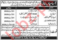 Naubahar Botteling Company Pepsi Cola Technical Staff Jobs