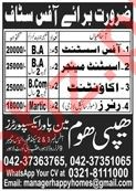 Assistant Manager & Accountant Jobs 2020 in Lahore
