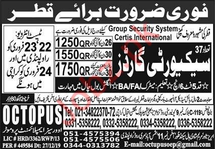Group Security System Certis International Company Jobs 2020