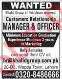 Khalid Group of Petroleum Jobs 2020 in Lahore