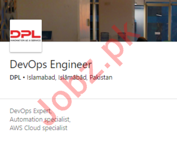 DPL Islamabad Jobs 2020 for DevOps Engineer