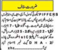 Piffers Security Services Jobs in Islamabad & Rawalpindi