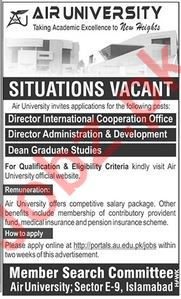 Management Jobs in Air University