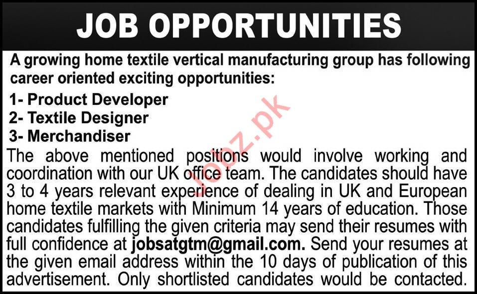 Vertical Manufacturing Group Jobs 2020