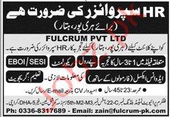 Fulcrum Pvt Ltd Jobs in Haripur Hattar KPK Jobs 2020