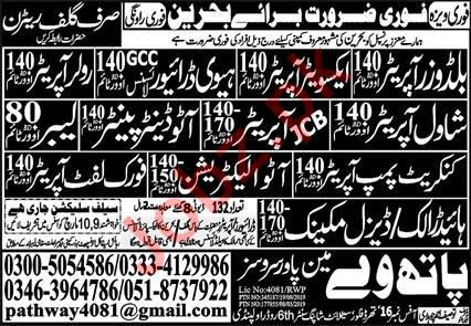 Technical Staff Jobs in Bahrain