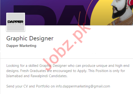 Graphic Designers Jobs 2020 in Rawalpindi & Islamabad