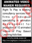 Animated Video Maker Jobs 2020 in Karachi
