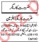 Salesman & Technician Jobs 2020 in Lahore