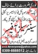 Senior Sales Officer Jobs 2020 in Lahore