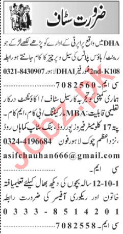 Accountant & Recovery Officer Jobs 2020 in Lahore