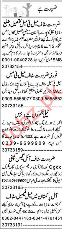 Accountant & Sales Manager Jobs 2020 in Faisalabad