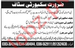 Chief Security Officer & Lady Searcher Jobs 2020