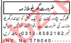 House Staff Jobs Career Opportunity in Peshawar