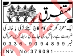 Aaj Sunday Classified Ads 7th June 2020 for House Staff