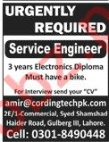 Coding Technologies Lahore Jobs 2020 for Service Engineer
