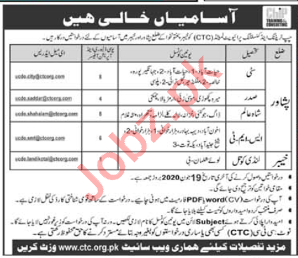 CHIP Training & Consulting CTC Jobs 2020 Operation Officer