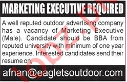 Marketing Executive Jobs 2020 in Eagle Outdoor Advertising