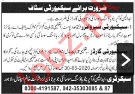 Abdalians Cooperative Housing Society Lahore Jobs 2020