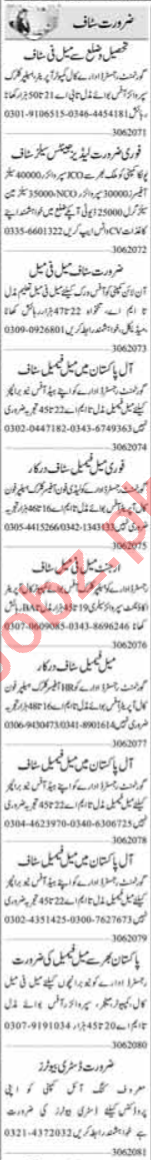 Data Entry Operator & Admin Officer Jobs 2020 in Lahore