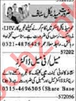Dunya Sunday Classified Ads 5th July 2020 for Medical Staff