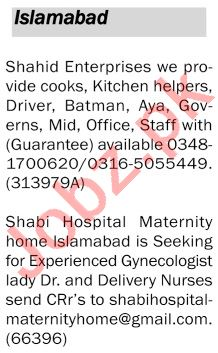 The News Sunday Islamabad Classified Ads 5th July 2020