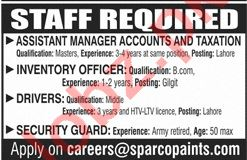 Assistant Manager Accounts & Inventory Officer Jobs 2020