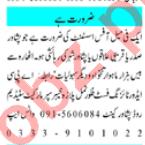 Office Assistant & Admin Officer Jobs 2020 in Peshawar