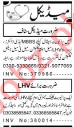 Medical Officer & Technician Jobs 2020 in Peshawar
