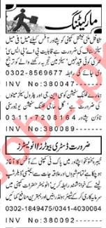 Sales Officer & Sales Manager Jobs 2020 in Peshawar