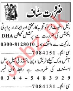 Female Personal Assistant & Secretary Jobs 2020 in Lahore