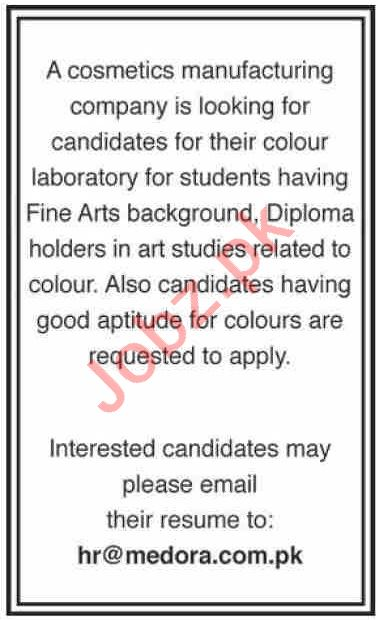 Color Developer & Designer Jobs 2020 in Karachi