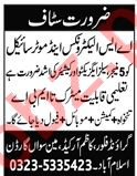 Sales Executive & Cashier Jobs 2020 in Islamabad
