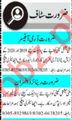 Mashriq Sunday Classified Ads 12th July 2020 for Security